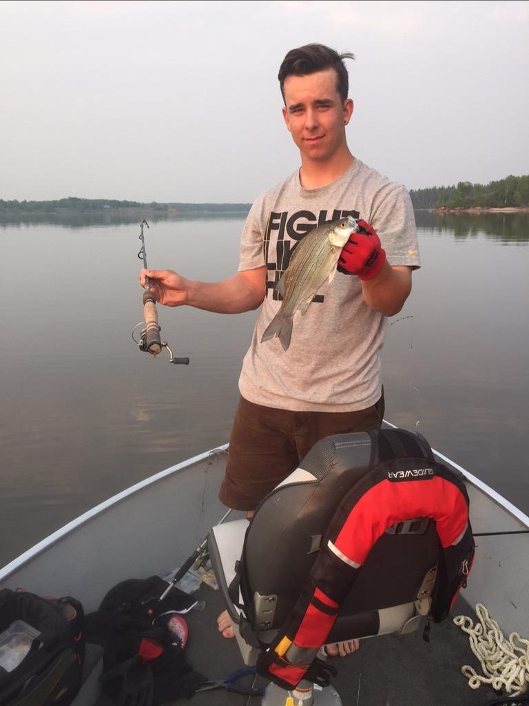 Master Angler Catches For Kyle Pososki Manitoba